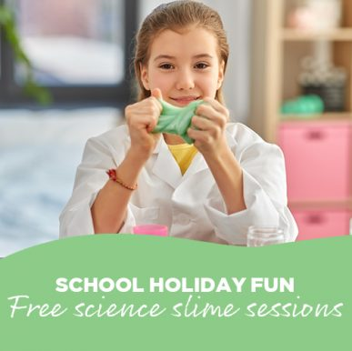 FREE School Holiday Slime Sessions